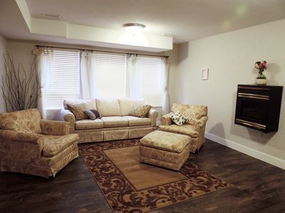 Photo for Comfortable, Private, 2 Bedroom Downstairs Suite