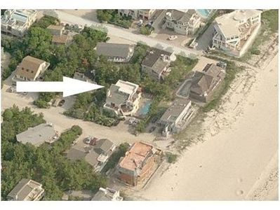 Only 1 House from Beach w/ Ocean Views on Private Street in Quiet Neighborhood