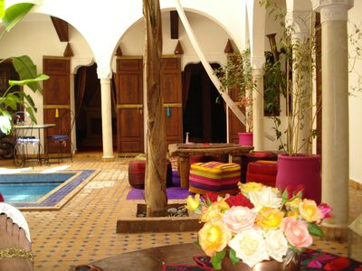Photo for Riad Reve d'Antan in the heart of a medina with swimming pool