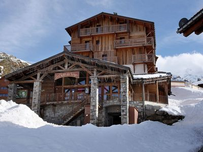 Photo for Luxury comfortable apartment on the slopes near Val Thorens