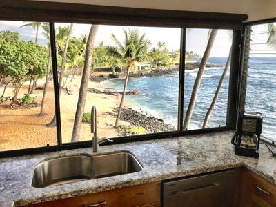 Photo for 2BR/2BA Kona Reef Ocean & White Sand Beach From Every Room