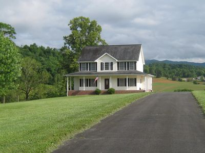 Photo for Riverfront home on South Holston River Perfect for Fishing, Hiking, Relaxing