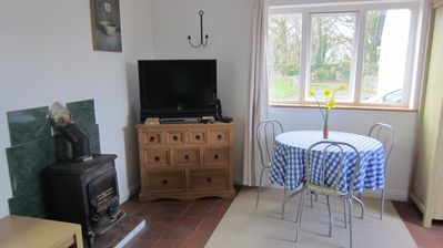 Photo for KINVARA VILLAGE GALWAY Studio Apartment Cottage for Two with cosy stove