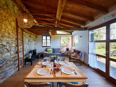 Photo for Superb Apartment in Farmhouse on Basque Coast: Gastronomy, Mountains, Surf ..