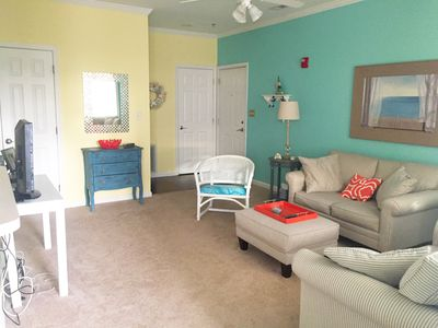 Photo for ADORABLE and COZY 2/2 condo East of Rt.1. 3 miles from downtown!