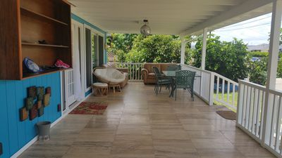 Photo for The Blue House -Freshly renovated bungalow with great indoor out living