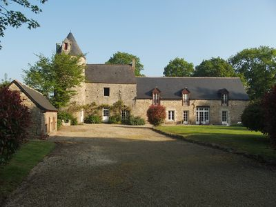 Photo for 17th century manor completely renovated qqs km from Dinan - 8 people
