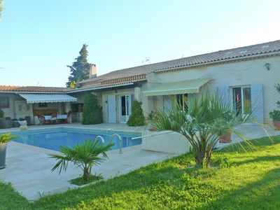 Photo for Charming villa with private pool at just 5 km from the Mediterranean Sea