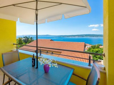 Photo for Holiday apartment Crikvenica for 2 - 4 persons with 3 bedrooms - Holiday apartment