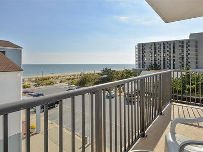 Photo for LINENS & DAILY ACTIVITIES INCLUDED*!. OCEANFRONT/BOARDWALK BUILDING/ ROOFTOP POOL Warm and friendly Condo on the boardwalk with bright and sunny southern exposure