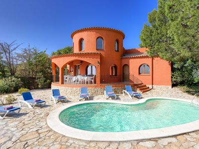 Photo for ANGELA-villa with sea views and private pool-Tamariu-Costa Brava