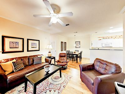 Photo for 3BR Condo w/ Pool, Close to the Action: Near Beach, Tanger Outlets & OWA