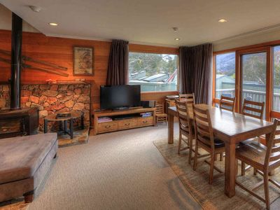 Photo for Freestanding Chalet in the heart of Thredbo Village