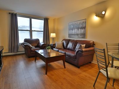 Photo for Modern, Bright Downtown Suite