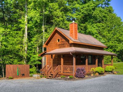 Photo for Cute CREEKSIDE Tiny Cabin by Pigeon Forge