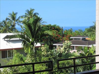 Ocean view from the lanai.