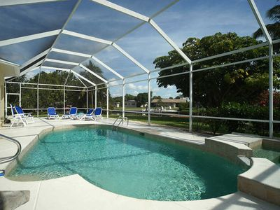 Photo for SWFL Rentals - Villa Franca - Stunning Heated Pool Home Sleeps 6