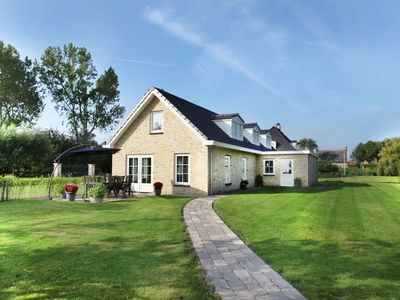 Photo for Luxurious and modern house with large garden, privacy and Wi-Fi, near Schoorl and the beach