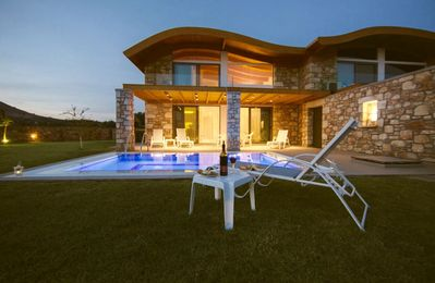 Photo for Villa Lardos is one of a group of eight villas, with private swimming pools and terraces for each vi