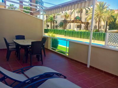 Photo for Apartment with large terrace and Wifi in the best beach of Denia