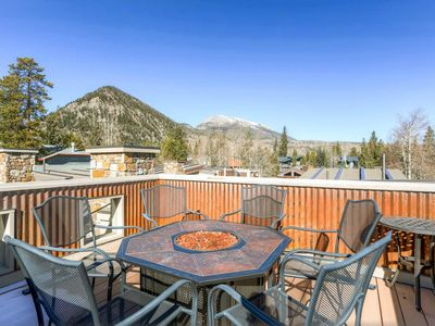 Photo for Outstanding 2BR Frisco Cabin w/Rooftop Deck!