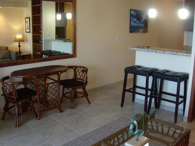 Indoor dining for Four guest