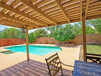 Photo for HP707 - Palm Desert CC - Cozy Home - Beautiful Large Yard with Private Pool/BBQ Area!