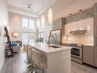 Photo for Brilliant Spacious Condo with Parking and  Patio