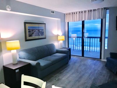 Photo for Waterpointe II - 3 Bedroom / 2 Bathrooms Oceanfront Condo - Fully Renovated 2017