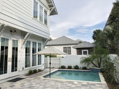 Photo for New Luxury Guesthouse w/Pool   Steps to beach 2 Bedroom