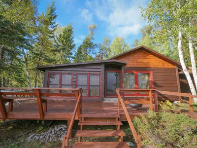 Photo for Lakeview Hideaway - Bear Island Cabin