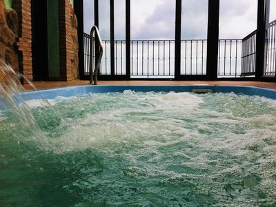 Photo for House SPA 12-16 places, in Gredos and the Tietar Valley, with pool-jacuzzi