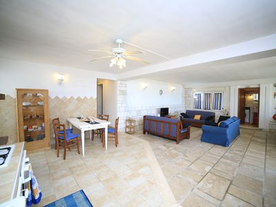 Photo for Spectacular Villa on the beach of Porto Cesareo with direct access to the sea.