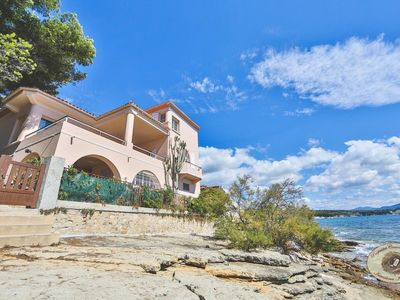 Photo for Waterfront property with exceptional panoramic views of the bay.