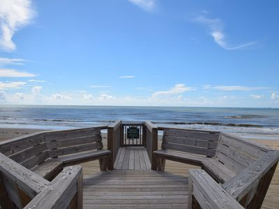Photo for Wonderful beachfront beach house with private walk-over - Buccaneer House