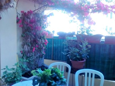 Photo for NICE CENTER, BIG ROOM, QUIET, TERRACE, WIFI BEACH 12 MNS WITH FEET, RAILWAY STATION,