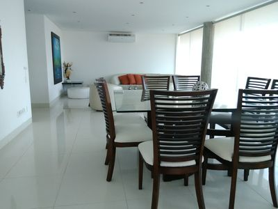 Photo for Complete apartment 2 bedrooms 3 bathrooms 6 people.