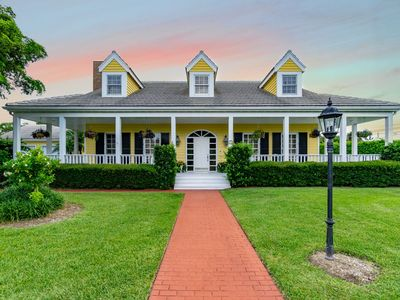 Photo for Classic Southern Charm Steps from the Beach