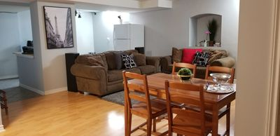 Photo for Cozy two bedrooms in basement