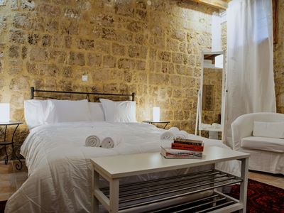 Photo for Townhouse in Old Medieval Town of Rhodes