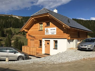 Photo for Veselý Svišť Chalet Lachtal - a new comfortable chalet right in the mountains