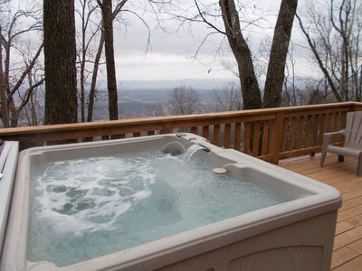 Photo for Newly Renovated Incredible Mountain Views with Hot Tub