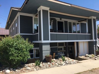 Photo for Want to be in the center of the action?  Chateau Weams is the place for you!  This duplex has WiFi,