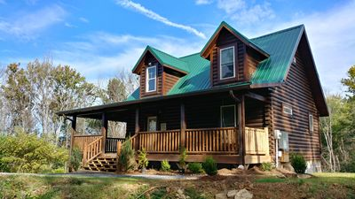 Photo for Brand new Quiet Cabin Close to Pigeon Forge and Gatlinburg