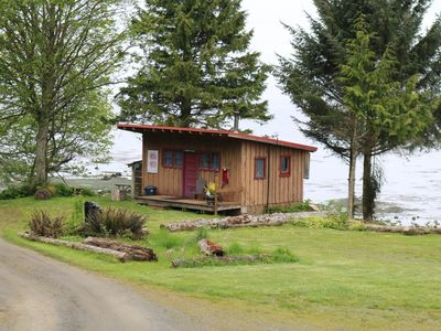Photo for Barnacle Hill Beach Cabin on the Strait of Juan De Fuca in the beautiful PNW