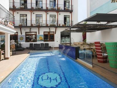 Photo for Apartments Neptuno, Calella  in Um Barcelona - 4 persons, 1 bedroom