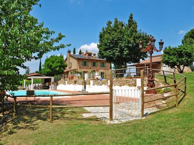 Photo for Vacation home Casa Fonte di Pillo (GAM290) in Gambassi Terme - 14 persons, 6 bedrooms
