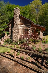 Photo for Little Creek/Antique Log Cabin-Near Boone/Parkway