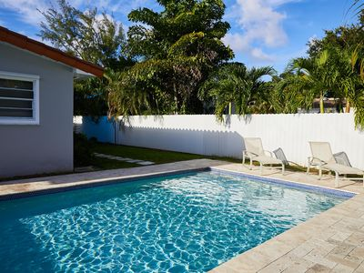 Newly renovated Miami home with pool and 1 car garage