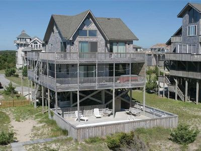 Photo for OCEANFRONT in Avon w/Pool&HotTub, RecRoom, Pets